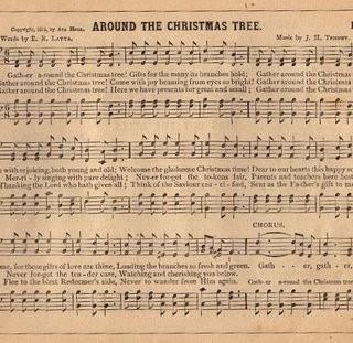 Vintage Graphic – Christmas Sheet Music