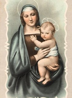 Vintage Graphic – Madonna and Child