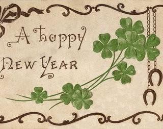 Vintage Postcard – Happy New Year