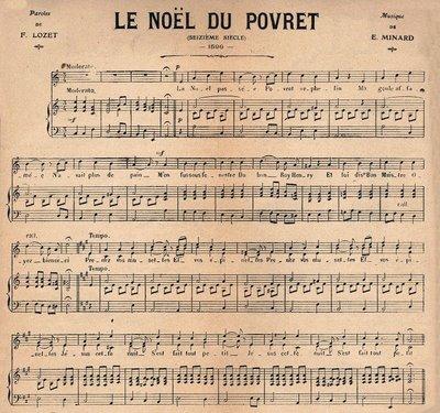 Christmas Sheet Music – French