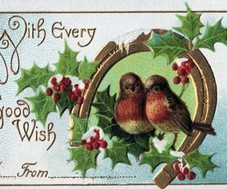 Victorian Gift Tag – Little Birds