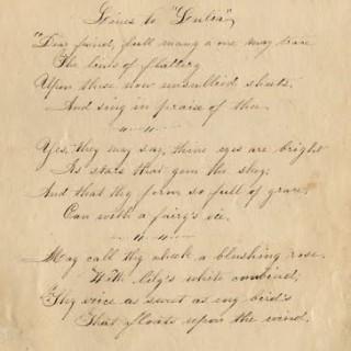 Free Antique Clip Art – Old Handwriting