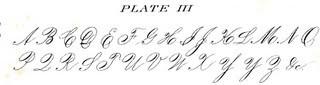 Free Clip Art Images – Penmanship Alphabet