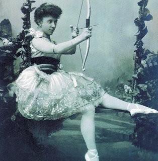 Free Vintage Clip Art – Ballerina