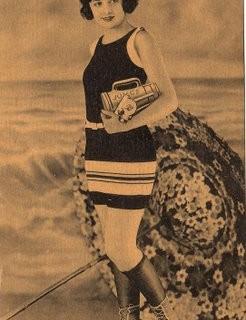 Free Vintage Clip Art – Bathing Beauty