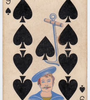 Free Vintage Clip Art – Antique Playing Card