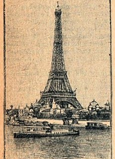 Free Clip Art – Vintage Eiffel Tower