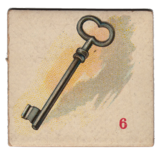 Free Vintage Clip Art – Skeleton Key