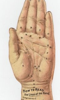 Free Vintage Clip Art – Palmistry Hand