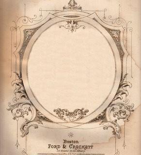 Amazing Antique Sheet Music Graphic – Ephemera