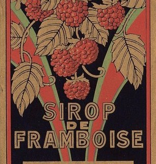 Vintage French Label – Framboise