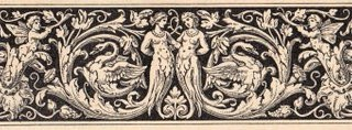 Antique Printer Ornament- Mermaids, Fairies & Swans