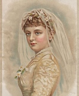 Free Victorian Clip Art – Beautiful Bride