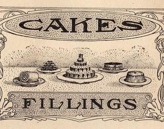 Cute Victorian Cake Graphic