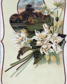 Free Vintage Clip Art – Charming Cottage