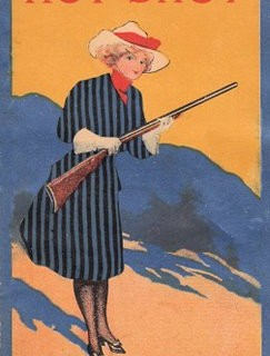 Free Victorian Clip Art – Cute Cowgirl