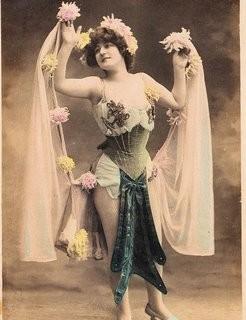 Victorian Burlesque Dancer