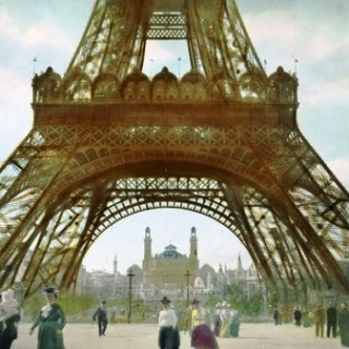 Free Vintage Graphic – Eiffel Tower