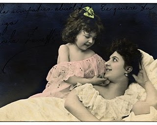 Vintage Mother's Day Clip Art – French Postcard