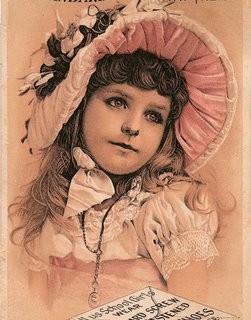 Free Victorian Clip Art – Beautiful Child