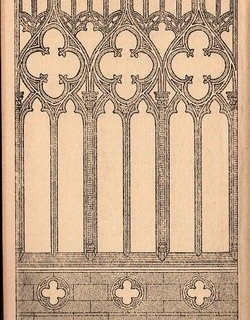 Gothic Arch Engraving