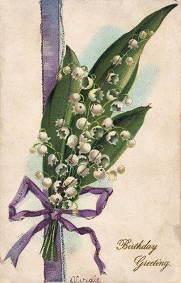 Free Vintage Clip Art Lily of the Valley The Graphics