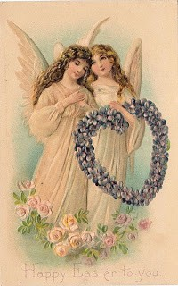 Free Easter Graphic – 2 Beautiful Angels