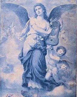 Beautiful Blue Angel