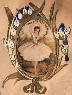Free Clip Art: Victorian Ballerina