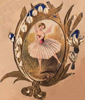 Free Clip Art: Victorian Ballerina 2