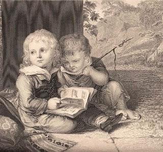 Old Engraving – 2 Little Boys