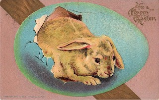 1907 – Bunny Hatching Out of Egg