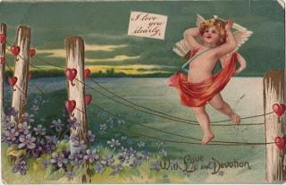 1905 Cherub Postcard