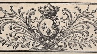 French Printer Ornament – Crown