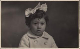 Antique Photo – Adorable Toddler