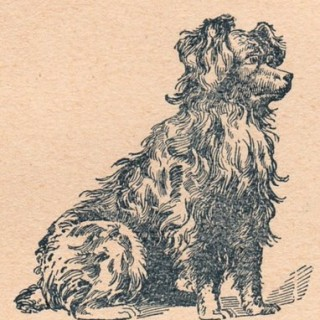 Vintage Dog Clip Art – Cute!