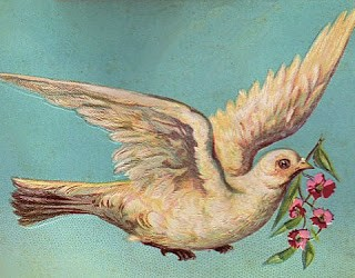 Free Vintage Graphic – Beautiful Dove
