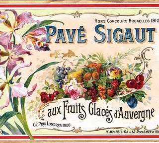 Vintage Clip Art – Beautiful French Label