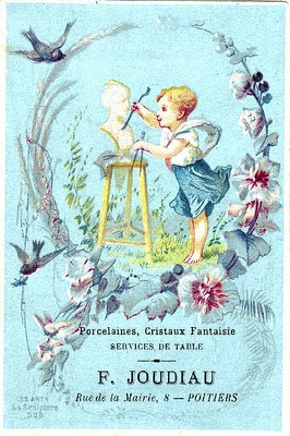 French Clip Art Artist Girl The Graphics Fairy