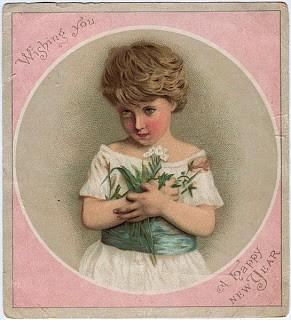 Victorian Clip Art – Beautiful Child