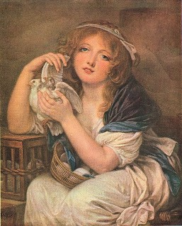 Lovely Artwork: Girl w/ Doves