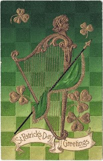 St. Patrick's Day Graphic- Harp