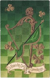 St. Patrick's Day Graphic- Harp