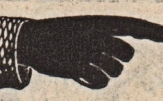 Free Victorian Graphic – Pointing Hand