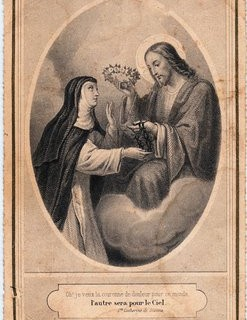 Antique French Holy Card