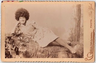 Old Photo – Woman w/ Wild Hair