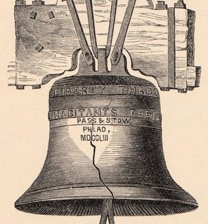 Free Vintage Clip Art – Liberty Bell