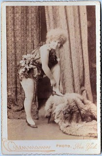 Old Photo – Russian Lady Dancer?