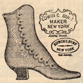 Victorian Graphic – Old High Button Shoe