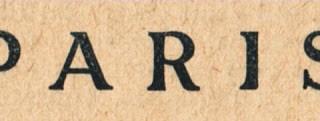 Vintage Paris – Great Font!